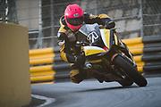 Davy MORGAN, GBR, DM71 BMW S 1000 RR<br /> <br /> 65th Macau Grand Prix. 14-18.11.2018.<br /> Suncity Group Macau Motorcycle Grand Prix - 52nd Edition.<br /> Macau Copyright Free Image for editorial use only