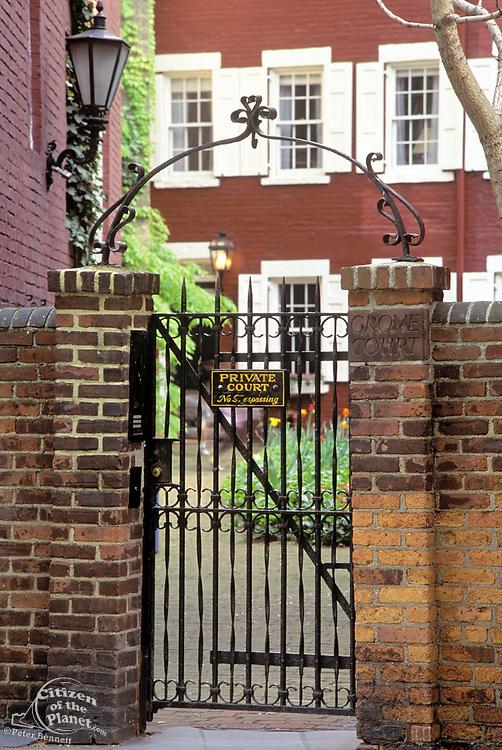 Grove Court, Greenwich Village, Manhattan, New York