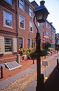 Alfred's Alley, Independence National Historic Park, Philadelphia, PA