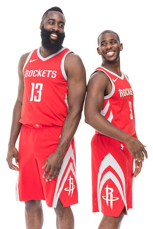 James Harden + Chris Paul - Houston Rockets - Houston, Texas - 2017