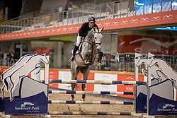 Cobbaut Geoffrey, BEL, Casallito<br /> Pavo Hengsten competitie - Oudsbergen 2021<br /> © Hippo Foto - Dirk Caremans<br />  22/02/2021