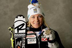 16.02.2013, Planai, Schladming, AUT, FIS Weltmeisterschaften Ski Alpin, Slalom, Damen, Medaillen Praesentation, im Bild Bronzemedaillen Gewinnerin Frida Hansdotter (SWE) // Frida Hansdotter of Sweden poses with her Bronze Medal during Womens Slalom Medal Presentation at the FIS Ski World Championships 2013 at the .Planai Course, Schladming, Austria on 2013/02/16 ***** ACHTUNG: VERÖFFENTLICHUNGS- SPERRFRIST 18:30 Uhr ***** Bild bei redaktioneller Verwendung honorarfrei// ***** PLEASE NOTE: Publication EMBARGO 18:30 .clock *****. EXPA Pictures © 2013, PhotoCredit: EXPA/ Erich Spiess