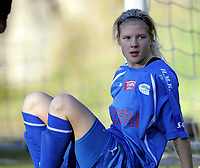 Fotball<br /> Norge<br /> 06.11.2010<br /> Foto: Morten Olsen, Digitalsport<br /> <br /> Toppserien kvinner<br /> Linderud/Grei v Klepp 0:0<br /> <br /> Nina Thorne - Linderud/Grei