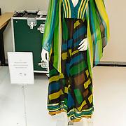 NLD/Amsterdam/20100512 - Opening expositie songfestivaljurken getiteld 'May we have your dress please?! , jurk van Sandra Reemer