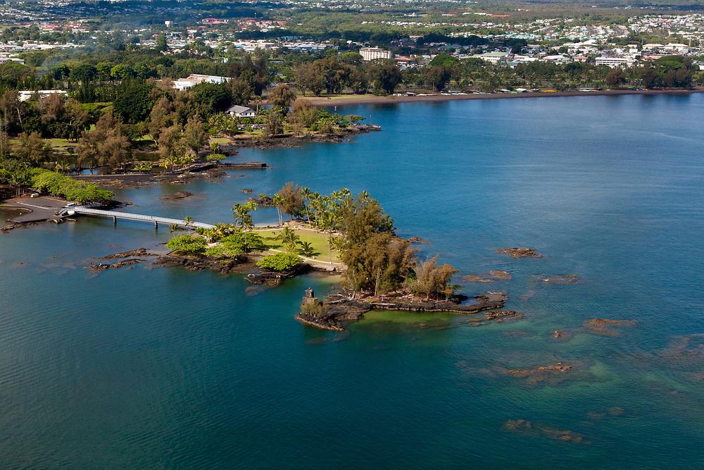 Coconut Island Aerial