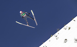 24.03.2019, Planica, Ratece, SLO, FIS Weltcup Ski Sprung, Skiflug, Einzelbewerb, Finale, im Bild Karl Geiger (GER) // Karl Geiger of Germany during the individual competition of the Ski Flying World Cup Final 2019. Planica in Ratece, Slovenia on 2019/03/24. EXPA Pictures © 2019, PhotoCredit: EXPA/ JFK