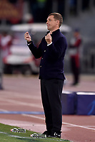 Viktar Hancharenka , CSKA coach<br /> Roma 23-10-2018 Stadio Olimpico<br /> Football Calcio UEFA Champions League 2018/2019 <br /> AS Roma - CSKA Moscow<br /> Foto Antonietta Baldassarre / Insidefoto