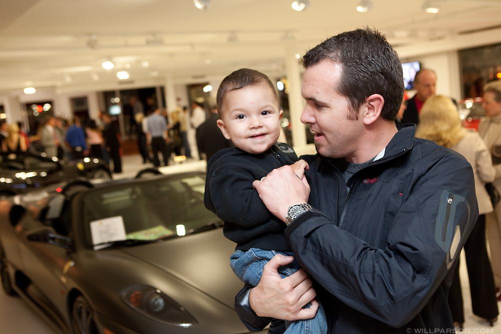 Jason Millard from La Jolla Bicycle and his son Tristan Millard.