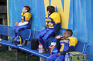 Salisbury Mills, New York -Washingtonville players get ready for an Orange County Youth Football League game on Oct. 16, 2010.