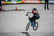 #155 (MECHIELSEN Drew) CAN during practice of Round 3 at the 2018 UCI BMX Superscross World Cup in Papendal, The Netherlands