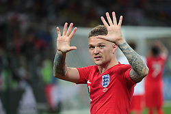 July 3, 2018 - Moscow, Russia - defender Kyle Walker of England National team during the round of 16 match between Colombia  and England at the FIFA World Cup 2018 at Spartak Stadium  in Moscow, Russia, Tuesday, July 3, 2018. (Credit Image: © Anatolij Medved/NurPhoto via ZUMA Press)