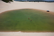Natal_RN, Brasil...Lagoas em meio as dunas no litoral norte...Lakes between some dunes in the north coast...Foto: LEO DRUMOND / NITRO