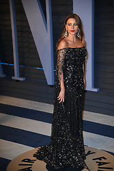 Sofia Vergara attending the 2018 Vanity Fair Oscar Party hosted by Radhika Jones at Wallis Annenberg Center for the Performing Arts on March 4, 2018 in Beverly Hills, Los angeles, CA, USA. Photo by DN Photography/ABACAPRESS.COM