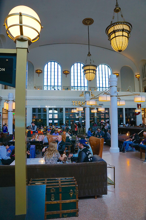 Amtrak station, Denver, CO