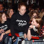 Gouden CD Jody Bernal, fans, meisjes, Jody's Angels, t-shirt