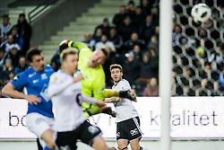April 8, 2018 - Trondheim, NORWAY - 180408 Nicklas Bendtner of Rosenborg scores 1-0 during the Eliteserien match between Rosenborg and Molde on April 8, 2018 in Trondheim..Photo: Jon Olav Nesvold / BILDBYRÃ…N / kod JE / 160239 (Credit Image: © Jon Olav Nesvold/Bildbyran via ZUMA Press)