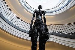 Giacometti figurine at Berggruen Museum in Berlin Germany