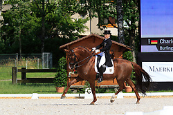 Schürmann Charlott-Maria (GER) - Burlington<br /> FEI European Championship Juniors - Bern 2012<br /> © Hippo Foto - Leanjo de Koster