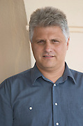 Tsaktsarlis Vassilis, owner winemaker oenologist. Biblia Chora Winery, Kokkinohori, Kavala, Macedonia, Greece