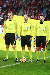 November 13, 2017 - Gdansk, Poland - Referee Oliver Drachta during the international friendly soccer match between Poland and Mexico at the Energa Stadium in Gdansk, Poland on 13 November 2017  (Credit Image: © Mateusz Wlodarczyk/NurPhoto via ZUMA Press)