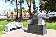 Statue of Harry Bridges Founder of the International Longshore and Warehouse Union (ILWU)