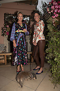 NIKKI TIBBLES; TESSA PACKARD; SMARTIE, spotted at Bloom & Wild's exclusive event at 5 Hertford Street last night. 5 September 2017. The event was announcing the new partnership between the UK's most loved florist, Bloom & Wild and British floral design icon Nikki Tibbles Wild at Heart. Cocooned in swaths of vibrant Autumn blooms, guests enjoyed floral-inspired cocktails from Sipsmith and bubbles from Chandon, with canapés put on by 5 Hertford Street. Three limited edition bouquets from the partnership can be bought through Bloom & Wild's website from the 1st September.  bloomandwild.com/WAH