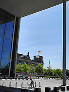 Berlin, GERMANY. General Views, GV's, of the Reichstag.  Saturday  01/05/2011 [Mandatory Credit; Peter Spurrier/Intersport-images] Street Photos