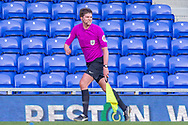 Assistant referee Ryan Whitaker during the EFL Sky Bet League 1 match between AFC Wimbledon and Hull City at Plough Lane, London, United Kingdom on 27 February 2021.