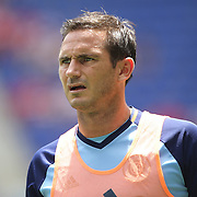 HARRISON, NEW JERSEY- JULY 24:  Frank Lampard #8 of New York City FC warming up before the New York Red Bulls Vs New York City FC MLS regular season match at Red Bull Arena, Harrison, New Jersey on July 24, 2016 in Harrison, New Jersey. (Photo by Tim Clayton/Corbis via Getty Images)
