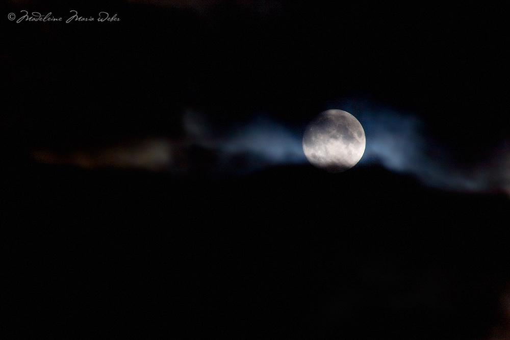 Stormy Full Moon Night in County Kerry, Ireland / lg019