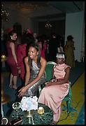 SALEWA ODUKALE, Florence Heoluwa 'Cuppy' Otedola Marie Antoinette Graduation party. Mandarin Oriental, Knightsbridge25th of July 2014.