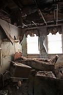 Jan. 6 2008 Arabi, LA,  St. Rita's nursing home left in ruin after Hurricane Katrina.