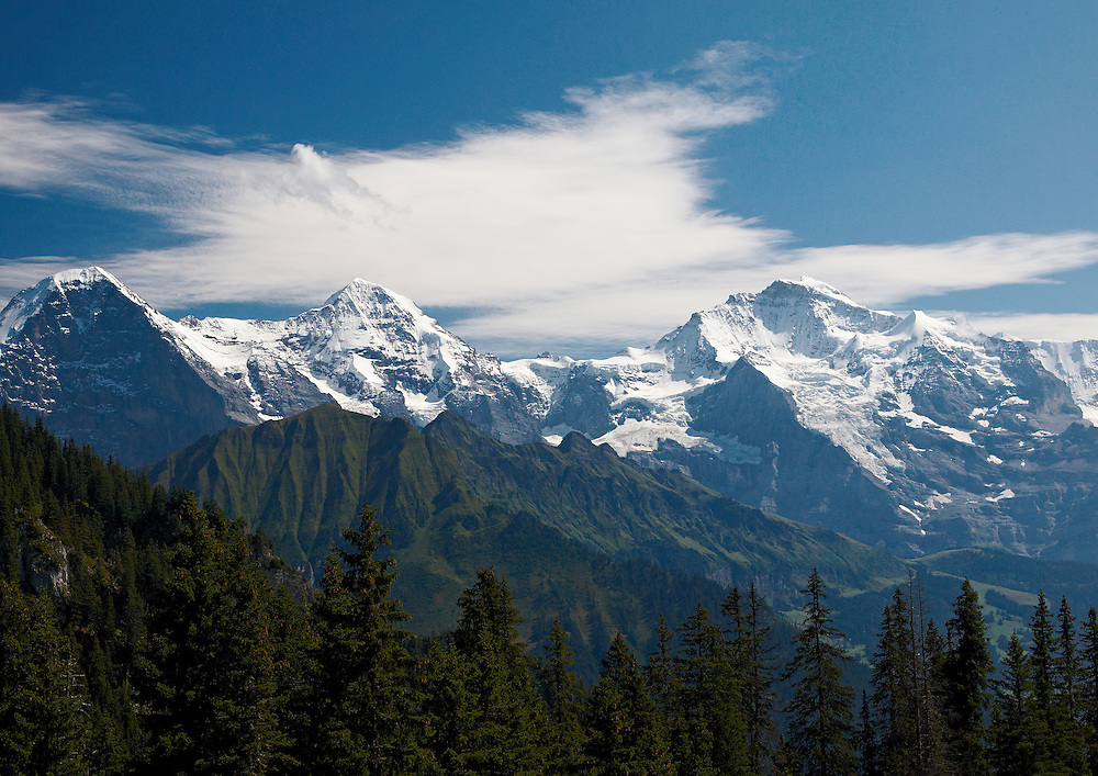 Switzerland - Top of Europe (Jungfrau, Monch, Eiger)