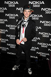 GEORGE SAMPSON at the launch party of the Nokia 5800 phone held at PUNK 14 Soho Street, London W1 on 27th January 2009.