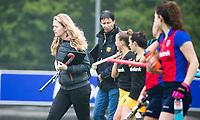 BILTHOVEN  - Hockey -  1e wedstrijd Play Offs dames. SCHC-Den Bosch (0-1).  manager Elmke Hendrix (Den Bosch)   COPYRIGHT KOEN SUYK