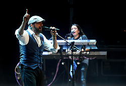 July 18, 2017 - July 18, 2017 Marbella (Malaga, Andalucia) The King of meringue for the first time at the starlite festival Juan Luis Guerra made Starlite's audience get bilirubin up to the rhythm of merengue, salsa and bachata. The Dominican singer-songwriter gave a concert in which he performed his best known hits like ''Ojalá que llueva café'' and ''Bubbles of love'' as well as songs from his latest album ''Todo tiene su hora' (Credit Image: © Fotos Lorenzo Carnero via ZUMA Wire)