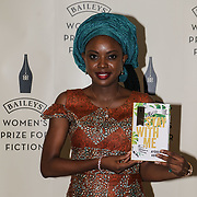 London,UK. 7th June 2017. Ayobami Adebayo attends a photocall for The Baileys Prize for Women's Fiction Awards 2017 at the The Royal Festival Hall, Southbank Centre. by See Li