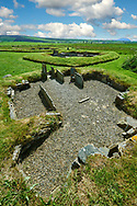Neolithic Barnhouse Settlement archaeological site, circa 3000 BC,  Loch of Harray, Orkney Mainland, Scotland, .<br /> <br /> Visit our SCOTLAND HISTORIC PLACXES PHOTO COLLECTIONS for more photos to download or buy as wall art prints https://funkystock.photoshelter.com/gallery-collection/Images-of-Scotland-Scotish-Historic-Places-Pictures-Photos/C0000eJg00xiv_iQ<br /> '<br /> Visit our PREHISTORIC PLACES PHOTO COLLECTIONS for more  photos to download or buy as prints https://funkystock.photoshelter.com/gallery-collection/Prehistoric-Neolithic-Sites-Art-Artefacts-Pictures-Photos/C0000tfxw63zrUT4