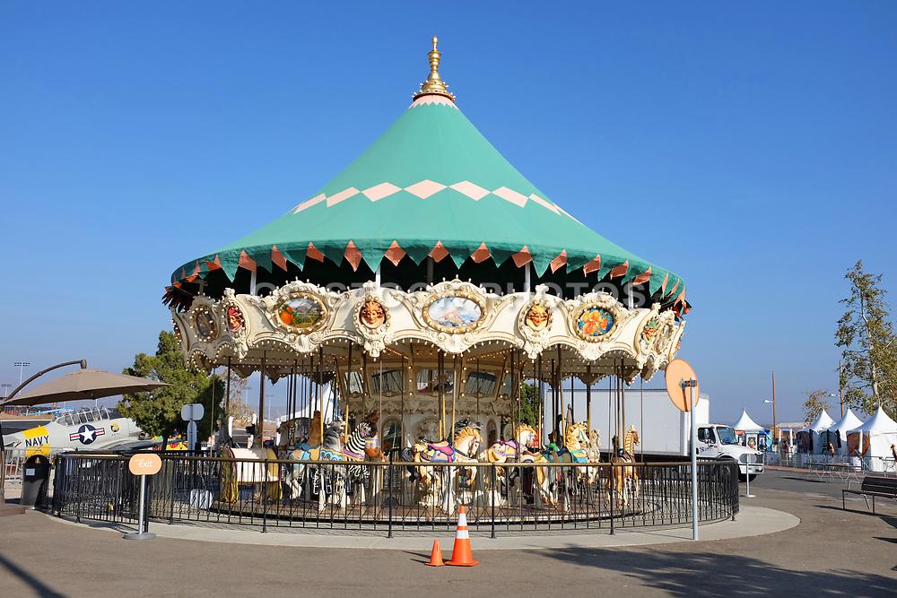 Children's Carousel at Orange County Great Park