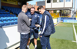Bristol Rovers manager Graham Coughlan during a pre match interview - Mandatory by-line: Arron Gent/JMP - 21/09/2019 - FOOTBALL - Cherry Red Records Stadium - Kingston upon Thames, England - AFC Wimbledon v Bristol Rovers - Sky Bet League One