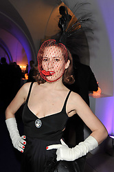 CHARLOTTE DELLAL at The Surrealist Ball in aid of the NSPCC in association with Harpers Bazaar magazine held at the Banqueting House, Whitehall, London on 17th March 2011.