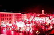 Race na 100-lecie Jagiellonii w centrum Białegostoku