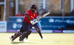 Essex's Ashar Zaidi during the One Day Cup, Quarter Final at the Cloudfm County Ground, Essex.