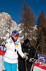23.01.2011, Tofana, Cortina d Ampezzo, ITA, FIS World Cup Ski Alpin, Lady, Cortina, SuperG, im Bild Lindsey Vonn (USA, #18) mit ihrem Ehemann Thomas bei Streckenbesichtigung // Lindsey Vonn (USA) with her Husband.Thomas during FIS Ski Worldcup ladies SuperG at pista Tofana in Cortina d Ampezzo, Italy on 23/1/2011. EXPA Pictures © 2011, PhotoCredit: EXPA/ J. Groder