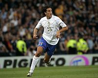 Glasgow, Scotland 3-9-05<br /> World Cup 2006 qualifing match<br /> Scotland-Italy<br /> nella  foto Luca Toni<br /> Foto Snapshot / Graffiti