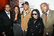 """l to r: Dr. Ben Chavis, Valiesha Butterfield, Russell Simmons, Lil' Kim and Kevin Liles  at The Russell Simmons and Spike Lee  co-hosted""""I AM C.H.A.N.G.E!"""" Get out the Vote Party presented by The Source Magazine and The HipHop Summit Action Network held at Home on October 30, 2008 in New York City"""