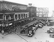 Public Market Center, 1939. (Seattle Times archives)