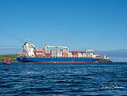Cork Harbour Ship