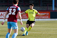 Ash Palmer. Weymouth FC 1-0 Stockport CountyFC. Vanarama National League. Bob Lucas Stadium. 6.3.21
