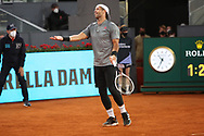 Fernando Verdasco of Spain during the Mutua Madrid Open 2021, Masters 1000 tennis tournament on May 3, 2021 at La Caja Magica in Madrid, Spain - Photo Laurent Lairys / ProSportsImages / DPPI